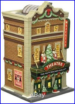 Department 56 Christmas in the City Majestic Theatre Lit House