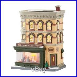 Department 56 Christmas in the City Nighthawks Lit House