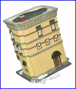 Department 56 Christmas in the City Nighthawks Lit House FREE 2 Day Ship