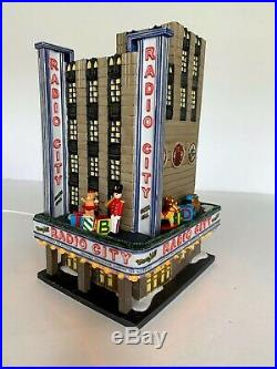 Department 56 Christmas in the City Series Radio City Music Hall 2002 Blinking