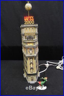 Department 56 Christmas in the City TIMES TOWER New Year 2000 Special Edition