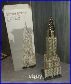 Department 56 Christmas in the City The Chrysler Building
