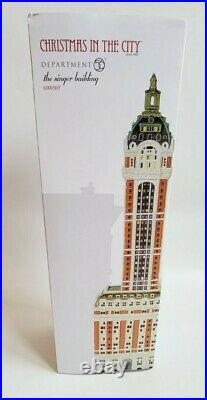 Department 56 Christmas in the City The Singer Building House (6000569)