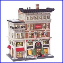 Department 56 Christmas in the City Village Dayfield's Department Store Lit