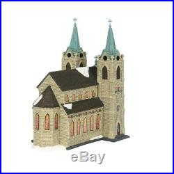 Department 56 Christmas in the City Village St Thomas Cathedral Figurine 6003054