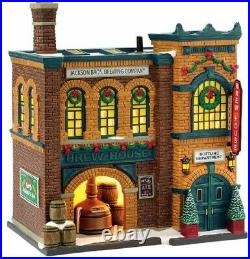 Department 56 Christmas in the City Village The Brew House Building 4036491 New