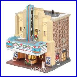 Department 56 Christmas in the City Village The Fox Theatre Lit House, 8.27-Inch