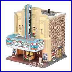 Department 56 Christmas in the City Village The Fox Theatre Lit House. NO TAX