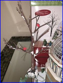 Department 56 Crystal Gardens Conservatory 59219 Christmas In The City COMPLETE