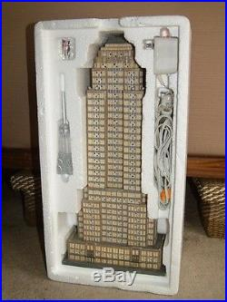 Department 56 Empire State Building 2003 In Box 24 Christmas City Series 59207