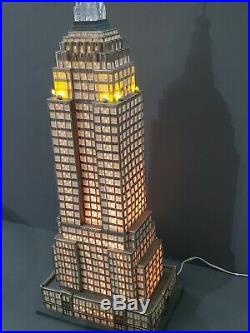 Department 56 Empire State Building Christmas in the City #56.59207 RETIRED
