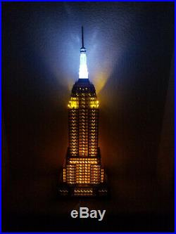 Department 56 Empire State Building Christmas in the City Series -# 56.59207
