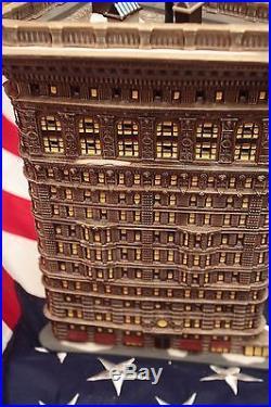 Department 56 Flatiron Building #59260 #4036091 #4036084 #4035917 Christmas City