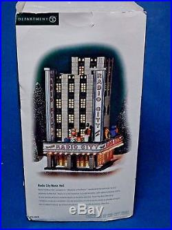Department 56 Radio City Music Hall 58924 Porcelain Building Retired, Mint