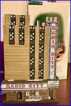 Department 56 Radio City Music Hall Christmas In The City Retired Dept 56