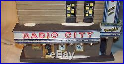 Department 56 Radio City Music Hall Christmas in the City Series RARE RETIRED