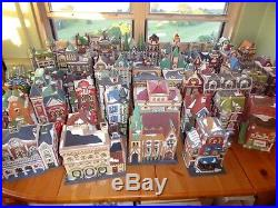 Department 56 Rare/retired (145+ Item) Snow Village & Christmas In The City Lot
