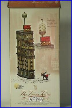 Department 56 Special Edition Gift Set The times Tower