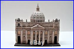 Department 56 St Peters Basilica Rome Churches of the World 57602 with Box