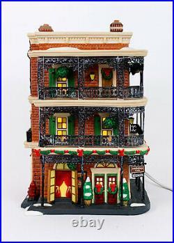 Department Dept 56 Jambalaya Cafe Christmas In The City Series Village Decor