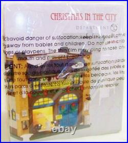 Dept 56 2015 CHECKER CITY CAB CO. #4044789 NRFB Christmas In City Village