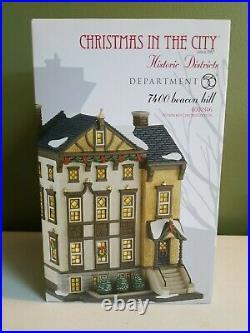 Dept 56 7400 Beacon Hill 4030346 Christmas In The City Ltd Ed. #723/2013