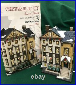 Dept. 56 7400 Beacon Hill Christmas in the city BOXED