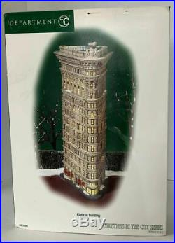 Dept 56 A Christmas In The City Flatiron Building Brand New