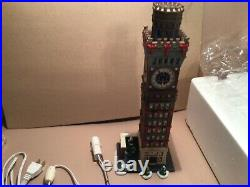Dept 56 Baltimore Arts Tower Christmas in the City # 59246