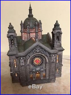 Dept 56 CATHEDRAL OF ST PAUL 2001 Figure 58930 Christmas In The City Patina Dome