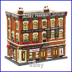 Dept 56 CIC 2015 Jacob's Pharmacy #4044791 NIB FREE SHIPPING 48 STATES