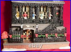 Dept 56 CIC Christmas City Famous New York 21 Club Restaurant 805535