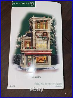 Dept 56 CIC Christmas in the City WOOLWORTH'S 56.59249 Brand New! RARE
