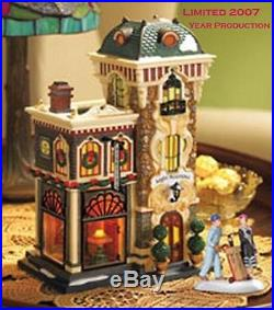 Dept 56 CIC LIGHT NOUVEAU Christmas in the City village house RETIRED MIB