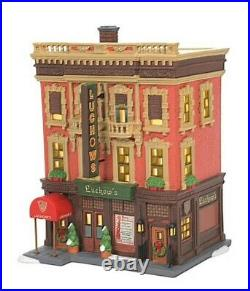Dept 56 CIC Luchow's German Restaurant #6007586 BRAND NEW 2021 Free Shipping