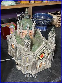 Dept 56 Cathedral Of St Paul Historical Landmark Series Christmas in the City