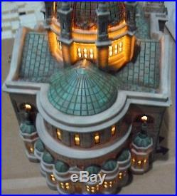 Dept 56 Cathedral Of St Paul Light Up 2001 Christmas In The City No Box Church