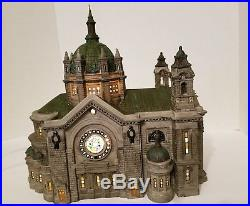 Dept 56 Cathedral of Saint Paul Christmas in the City Series