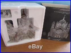 Dept. 56 Christmas In The City 2001 Cathedral Of Saint Paul Copper Dome Limited