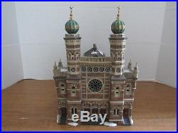 Dept. 56 Christmas In The City 2003 Central Synagogue Historical Landmark Series