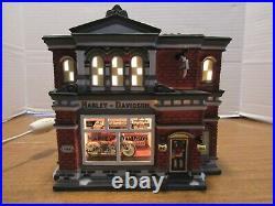 Dept. 56 Christmas In The City 2003 Harley Davidson City Dealership #56.59202