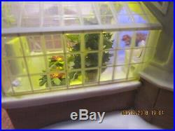 Dept 56 Christmas In The City 2004 Crystal Gardens Conservatory #56.59219 NIB