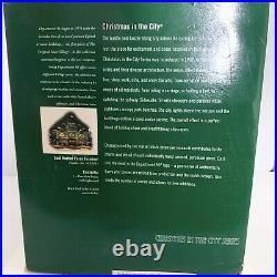 Dept 56 Christmas In The City 2005 East Harbor Ferry Terminal #5735/15,000 Read