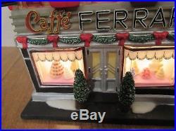 Dept. 56 Christmas In The City 2007 Ferrara Bakery & Cafe #56.59272 HTF