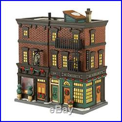Dept 56 Christmas In The City 2013 Soho Shops