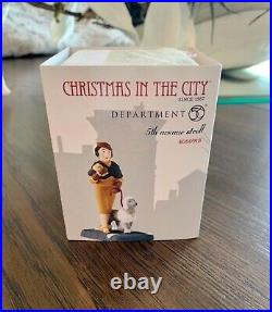 Dept 56 Christmas In The City 5th Avenue Stroll Rare