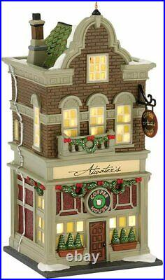Dept 56 Christmas In The City ATWATER'S COFFE HOUSE 4025245 DEALER STOCK-NEW