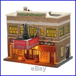 Dept 56 Christmas In The City CIC Savoy Ballroom New 2020 6005383