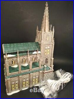 Dept. 56 Christmas In The City Cathedral Of St. Nicholas Special Edition IOB
