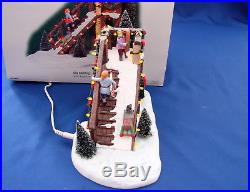 Dept 56 Christmas In The City City Sledding AC/DC Adapter Included 56.59423 Mint